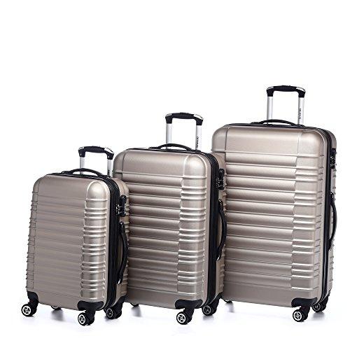 3 teiliges kofferset von beibye die besten koffersets. Black Bedroom Furniture Sets. Home Design Ideas