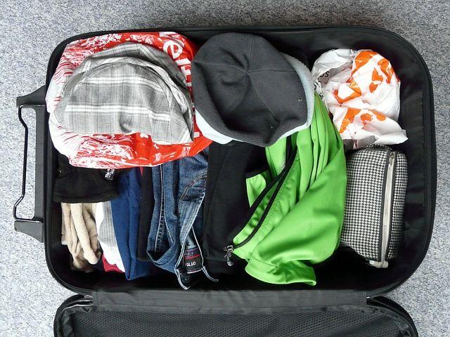 Koffer richtig packen